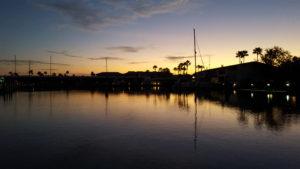 Key Allegro Gas Dock at sunrise